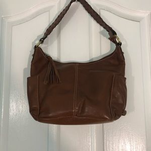 EUC Rossetti shoulder bag in nice brown see pics